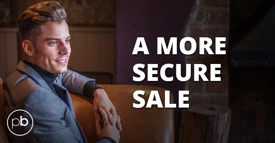 A more secure sale